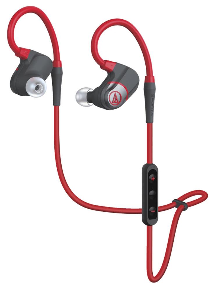 Audio-Technica ATH-SPORT4, Red Gray Bluetooth-гарнитура15118834ATH-SPORT4 - пополнение спортивной серии наушников Audio-Technica, которые добавят вам драйва, когда вы будете тренировать свои мышцы. Это Bluetooth-гарнитура, обеспечивающая беспроводную связь с вашим смартфоном или другим гаджетом (короткий провод используется только для соединения чашек наушников). Модель имеет продуманную конструкцию с гибким, поворачиваемым на 360° заушным креплением, которое обеспечивает надёжную настраиваемую посадку, позволяющую наушникам оставаться на месте даже при самых энергичных движениях. Такая система крепления подойдёт для уха любой формы и размера. Диапазон частот микрофона: 50-8000 Гц Чувствительность микрофона: -44 дБ