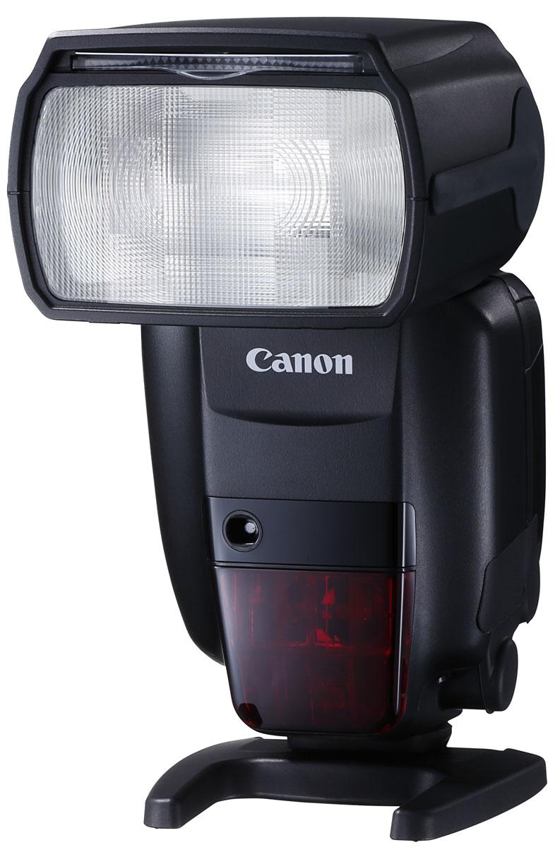 Canon Speedlite 600EX II-RT вспышка1177C003Вспышка Speedlite 600EX II-RT разработана для скоростной съемки даже в самых сложных условиях. Она обеспечивает полный контроль над освещением, ее можно использовать отдельно от камеры или установить на горячий башмак камеры. Вспышка Speedlite 600EX II-RT — идеальный аксессуар для камеры EOS-1D X Mark II — обеспечит непревзойденные результаты. Время непрерывного срабатывания вспышки увеличено на 50% в сравнении со вспышкой Speedlite 600EX-RT, а с аккумулятором CP-E4N можно выполнять еще более продолжительную съемку. Улучшенный алгоритм управления вспышкой предотвращает перегрев, а функция Quick Flash позволяет не пропустить важный момент, гарантируя срабатывание вспышки Speedlite 600EX II-RT даже при неполной перезарядке. Зум и головка вспышки обеспечивают соответствие покрытия вспышки используемому для съемки объективу и дают возможность свету вспышки отражаться от стен и потолка для получения более естественного результата. Вспышка Speedlite...