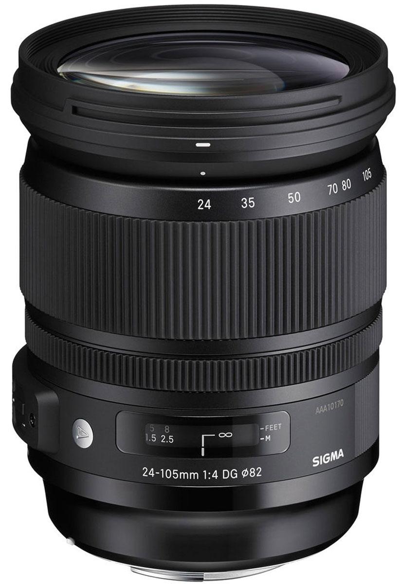 Sigma AF 24-105mm f/4.0 DG HSM Art объектив для Sony sigma af 24 105mm f 4 dg os hsm canon ef