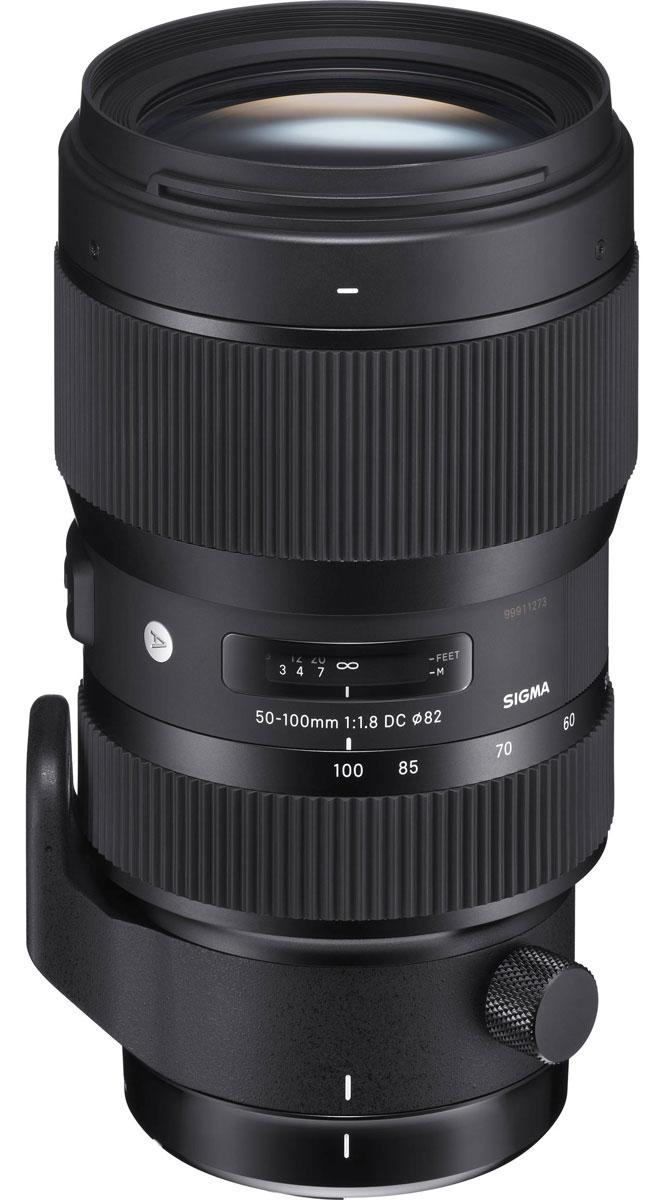 Sigma AF 50-100mm F/1.8 DC HSM/A объектив для Nikon693955Уникальный объектив Sigma 50-100mm F1.8 DC HSM/A - отличное решение для владельцев кропнутых камер. Большинство именитых производителей, создавая действительно качественные фотоаппараты с матрицей формата APS-C, не заботятся о хорошем объективе для нее, в то время как Sigma 50-100mm F1.8 DC HSM/A легко справляется с возникающими в процессе использования проблемами. Этот великолепный телевик с диафрагмой F1.8, которая позволяет ему стать не только отличным зум- но и портретным объективом. Диаметр диафрагмы является вторым по величине в линейке объективов Sigma, при этом он работает мягче и быстрее, чем когда-либо прежде. Такой эффект достигается за счет карбоновой пленки, покрывающей лепестки диафрагмы и делающей ее работу более гладкой даже во время непрерывной съемки. Кроме высококачественной и комфортной фотосьемки, Sigma 50-100mm F1.8 DC HSM/A хорош и для создания видео. Благодаря внутренней фокусировке объектива и внутренней технологии зума,...