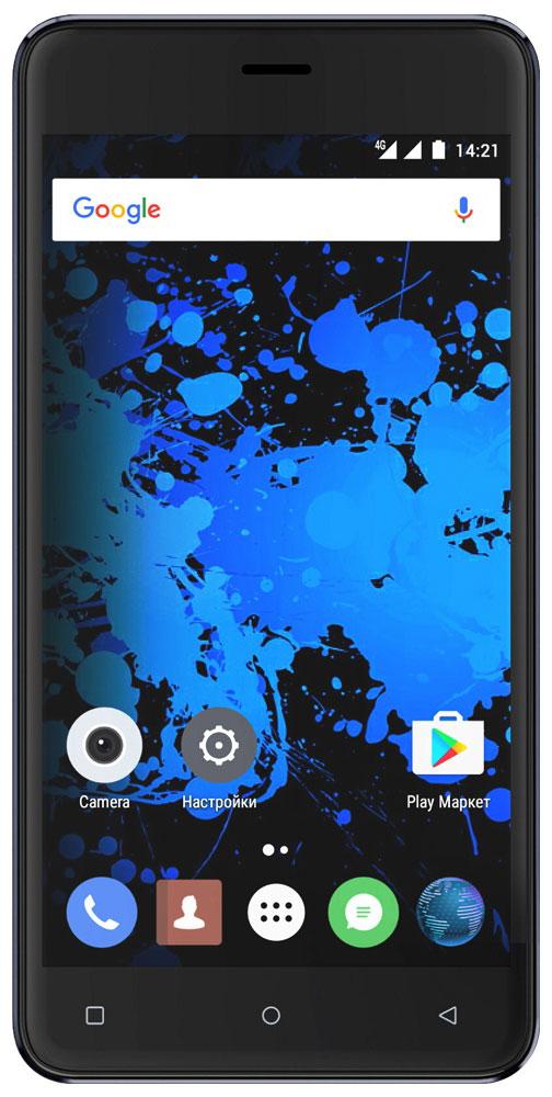 Highscreen Power Rage Evo, Blue23527Highscreen Power Rage Evo — металлический смартфон с мощным аккумулятором. Давно мечтал о новом смартфоне, который круто выглядит, долго работает, да еще и имеет металлический корпус? Highscreen реализовали твои мечты в Power Rage Evo. Отличительная особенность серии Power – батарея с рекордной ёмкостью, которая позволяет использовать все возможности твоего смартфона. Power Rage Evo построен на базе энергоэффективного Android 6, процессора MT6737 и обладает 3 ГБ оперативной памяти, что позволяет ему справляться с любыми задачами и эффективно контролировать заряд батареи. Смартфон ощущается и выглядит дороже своей стоимости, изящные линии корпуса и металлическая крышка выделяют Power Rage Evo из толпы безликих смартфонов. Power Rage Evo обладает ярким и контрастным 5-дюймовым IPS-дисплеем, закругленным по краям. Экран отображает естественные цвета, поэтому смотреть фильмы и играть в игры на нем особенно приятно. ...