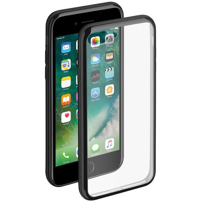Deppa Gel Plus Case чехол для Apple iPhone 7 Plus, Black85258Чехол Deppa Gel Plus Case для Apple iPhone 7 Plus предназначен для защиты корпуса смартфона от механических повреждений и царапин в процессе эксплуатации. Плотный высокотехнологичный TPU (силикон) производства Bayer в разы повышает защитные функции чехла. Кейс эластичен, устойчив к изломам, не запотевает и не желтеет даже при длительной эксплуатации. Кейс надежно защищает iPhone со всех сторон и имеет все необходимые, тщательно выверенные отверстия для доступа к функциональным портам, разъемам и кнопкам смартфона. Вы можете легко зарядить устройство, не снимая чехол. Специально разработанный кейс для iPhone выполнен с применением особой технологии Electroplating: специальное гальванопокрытие и стильная рамка с эффектом металла придают особый шик вашему устройству.