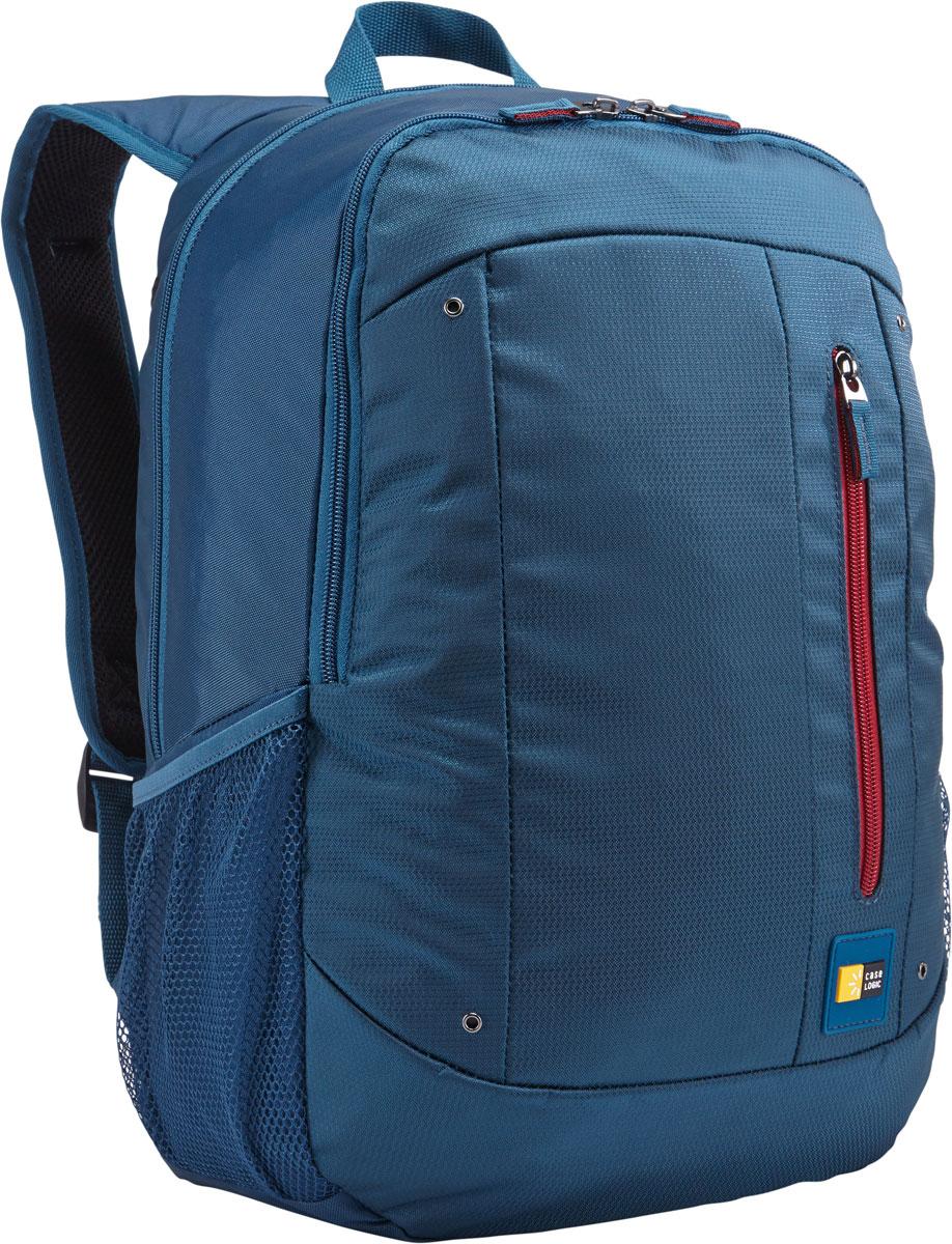 Case Logic Jaunt WMBP-115, Legion Blue рюкзак для ноутбука 15.6''WMBP-115_LEGIONCase Logic Jaunt WMBP-115 - изящное решение для ежедневного удобного и безопасного перемещения электроники и необходимых аксессуаров. Встроенный отдел для ноутбука 15,6, чехол для планшета и внутренний карман для хранения шнура питания позволяют держать электронику под рукой. Возможен быстрый доступ к часто используемым вещам через передний отдел, а организационная панель сохранит аксессуары в порядке, где бы вы ни находились в этот день. В передний карман можно положить необходимые в пути предметы, например телефон или жевательную резинку. Панель-органайзер позволяет хранить небольшие аксессуары, а благодаря петлям для ручек вы всегда сможете сделать необходимую запись. Вшитый отдел для ноутбука 15,6 и чехол для планшета Внутренний карман для хранения зарядных устройств и кабелей предотвращает их спутывание Сетчатые боковые карманы для бутылок с водой