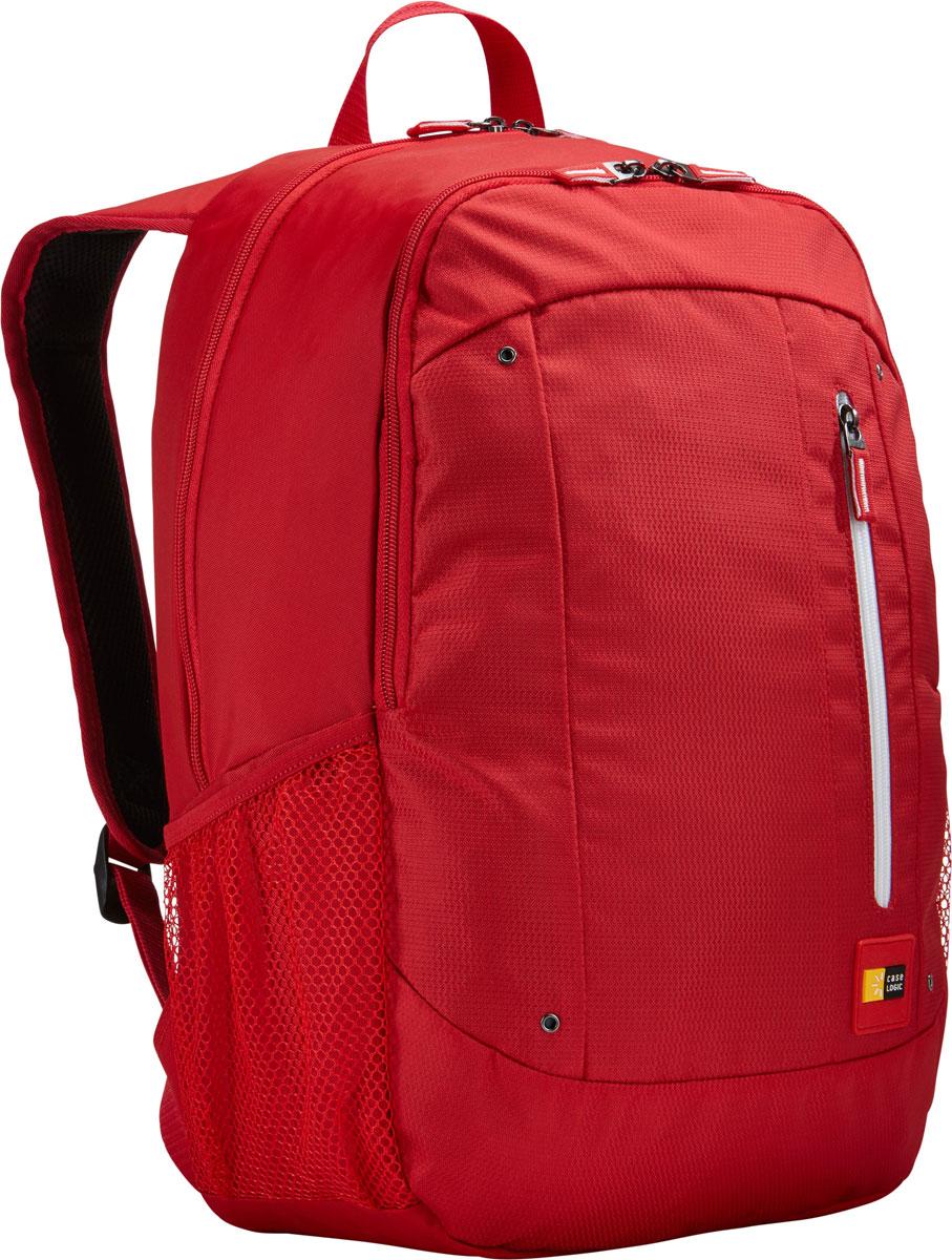 Case Logic Jaunt WMBP-115, Racing Red рюкзак для ноутбука 15.6''WMBP-115_RACING_REDCase Logic Jaunt WMBP-115 - изящное решение для ежедневного удобного и безопасного перемещения электроники и необходимых аксессуаров. Встроенный отдел для ноутбука 15,6, чехол для планшета и внутренний карман для хранения шнура питания позволяют держать электронику под рукой. Возможен быстрый доступ к часто используемым вещам через передний отдел, а организационная панель сохранит аксессуары в порядке, где бы вы ни находились в этот день. В передний карман можно положить необходимые в пути предметы, например телефон или жевательную резинку. Панель-органайзер позволяет хранить небольшие аксессуары, а благодаря петлям для ручек вы всегда сможете сделать необходимую запись. Вшитый отдел для ноутбука 15,6 и чехол для планшета Внутренний карман для хранения зарядных устройств и кабелей предотвращает их спутывание Сетчатые боковые карманы для бутылок с водой