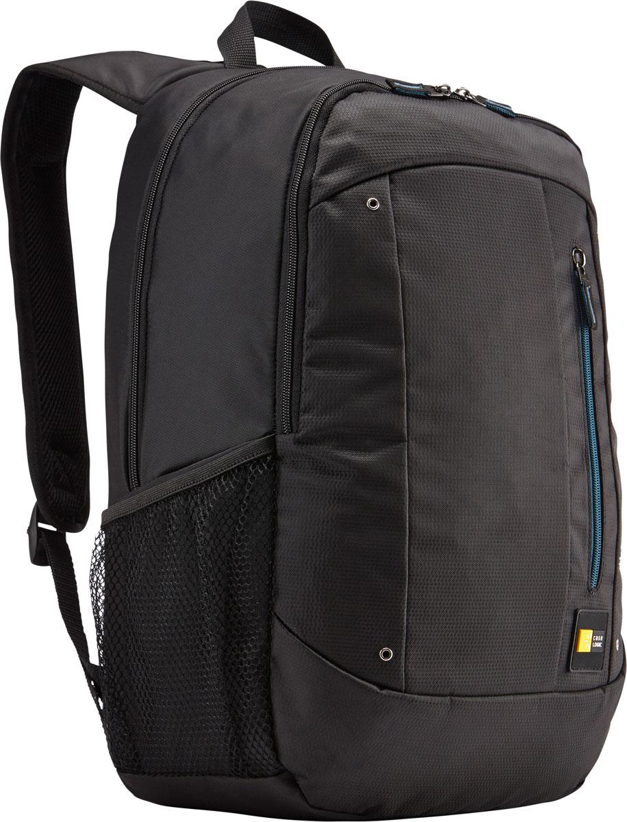 Case Logic Jaunt WMBP-115, Black рюкзак для ноутбука 15.6''WMBP-115_BLACKCase Logic Jaunt WMBP-115 - изящное решение для ежедневного удобного и безопасного перемещения электроники и необходимых аксессуаров. Встроенный отдел для ноутбука 15,6, чехол для планшета и внутренний карман для хранения шнура питания позволяют держать электронику под рукой. Возможен быстрый доступ к часто используемым вещам через передний отдел, а организационная панель сохранит аксессуары в порядке, где бы вы ни находились в этот день. В передний карман можно положить необходимые в пути предметы, например телефон или жевательную резинку. Панель-органайзер позволяет хранить небольшие аксессуары, а благодаря петлям для ручек вы всегда сможете сделать необходимую запись. Вшитый отдел для ноутбука 15,6 и чехол для планшета Внутренний карман для хранения зарядных устройств и кабелей предотвращает их спутывание Сетчатые боковые карманы для бутылок с водой
