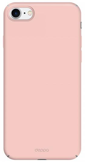 Deppa Air Case чехол для Apple iPhone 7, Pink Gold83271Чехол Deppa Air Case для Apple iPhone 7 - случай редкого сочетания яркости и чувства меры. Это стильная и элегантная деталь вашего образа, которая всегда обращает на себя внимание среди множества вещей. Благодаря покрытию soft touch чехол невероятно приятен на ощупь, поэтому смартфон не хочется выпускать из рук. Ультратонкий чехол (толщиной 1 мм) повторяет контуры самого девайса, при этом готов принимать на себя удары - последствия непрерывного ритма городской жизни.