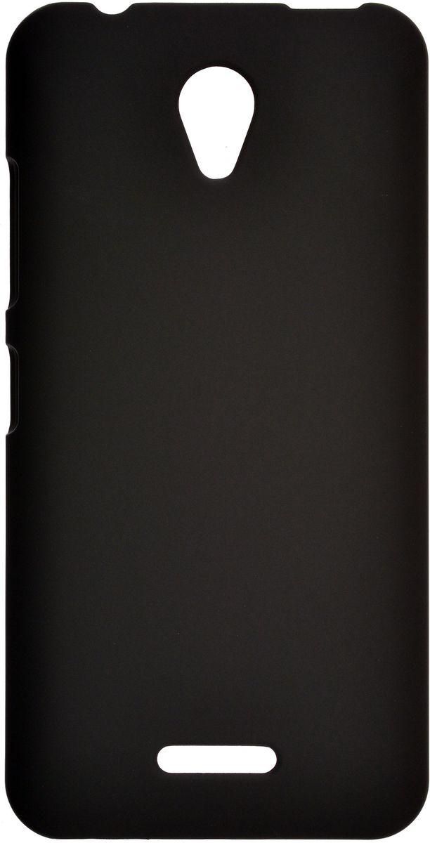 Skinbox Shield 4People чехол-накладка для Lenovo A1010/A2016, Black2000000100340Чехол-накладка Skinbox Shield 4People для Lenovo A1010/A2016 бережно и надежно защитит ваш смартфон от пыли, грязи, царапин и других повреждений. Выполнен из высококачественного поликарбоната, плотно прилегает и не скользит в руках. Чехол-накладка оставляет свободным доступ ко всем разъемам и кнопкам устройства.