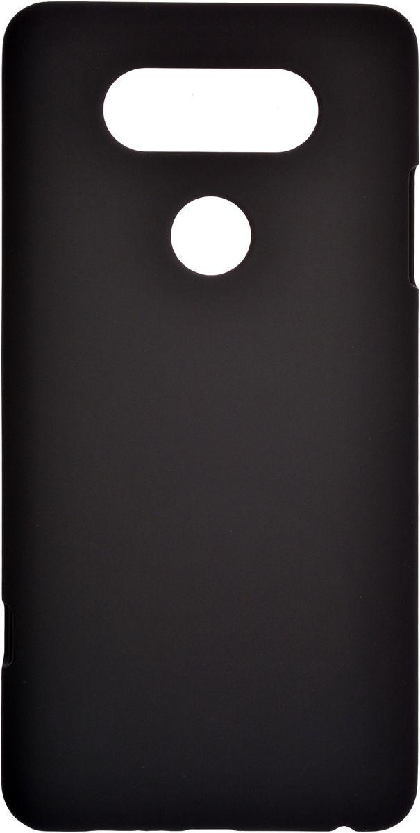 Skinbox Shield 4People чехол-накладка для LG V20, Black2000000108612Чехол-накладка Skinbox Shield 4People для LG V20 бережно и надежно защитит ваш смартфон от пыли, грязи, царапин и других повреждений. Выполнен из высококачественного поликарбоната, плотно прилегает и не скользит в руках. Чехол-накладка оставляет свободным доступ ко всем разъемам и кнопкам устройства.