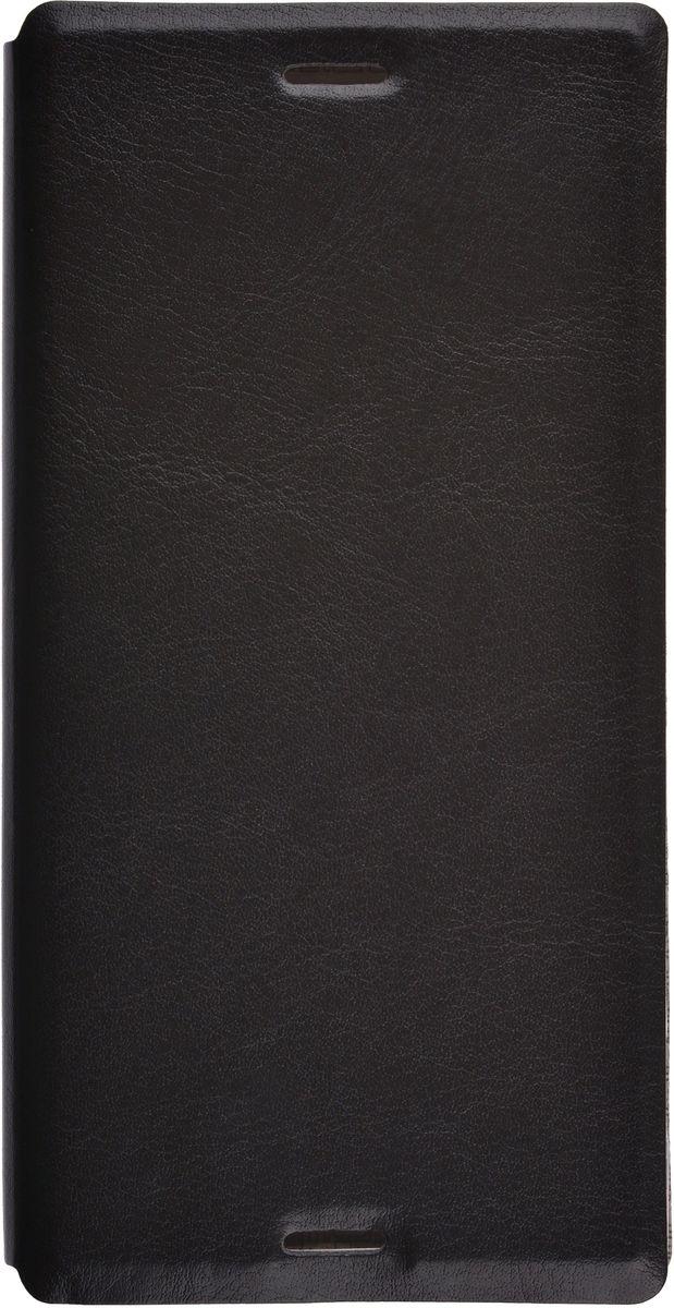 Skinbox Lux чехол для Sony Xperia XZ, Black2000000105093Чехол Skinbox Lux для Sony Xperia XZ выполнен из высококачественного поликарбоната и экокожи. Он обеспечивает надежную защиту корпуса и экрана смартфона и надолго сохраняет его привлекательный внешний вид. Чехол также обеспечивает свободный доступ ко всем разъемам и клавишам устройства.