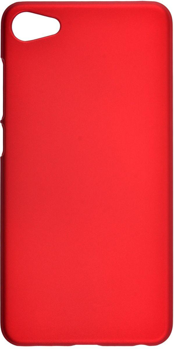 Skinbox Shield 4People чехол-накладка для Meizu U10, Red2000000112817Чехол-накладка Skinbox Shield 4People для Meizu U10 бережно и надежно защитит ваш смартфон от пыли, грязи, царапин и других повреждений. Выполнен из высококачественного поликарбоната, плотно прилегает и не скользит в руках. Чехол-накладка оставляет свободным доступ ко всем разъемам и кнопкам устройства.
