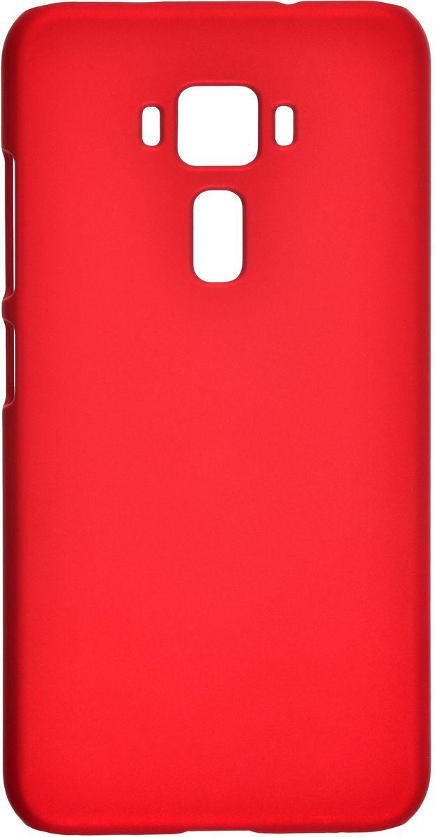 Skinbox 4People чехол-накладка для Asus Zenfone 3 ZE520KL + защитная пленка, Red2000000098982Чехол Skinbox 4People для Asus Zenfone 3 (ZE520KL) надежно защищает ваш смартфон от внешних воздействий, грязи, пыли, брызг. Он также поможет при ударах и падениях, не позволив образоваться на корпусе царапинам и потертостям. Чехол обеспечивает свободный доступ ко всем функциональным кнопкам смартфона и камере. В комплект идет защитная пленка на экран устройства.