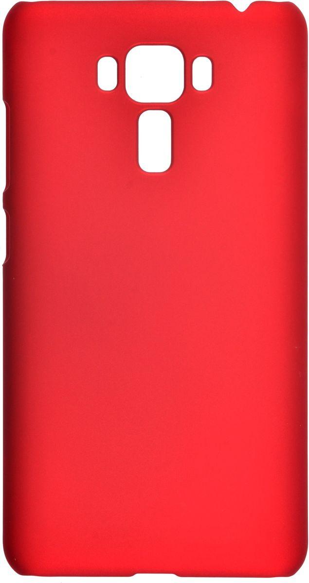 Skinbox 4People чехол-накладка для Asus ZenFone 3 Laser ZC551KL+ защитная пленка, Red2000000098968Чехол Skinbox 4People для Asus ZenFone 3 Laser (ZC551KL) надежно защищает ваш смартфон от внешних воздействий, грязи, пыли, брызг. Он также поможет при ударах и падениях, не позволив образоваться на корпусе царапинам и потертостям. Чехол обеспечивает свободный доступ ко всем функциональным кнопкам смартфона и камере. В комплект идет защитная пленка на экран устройства.