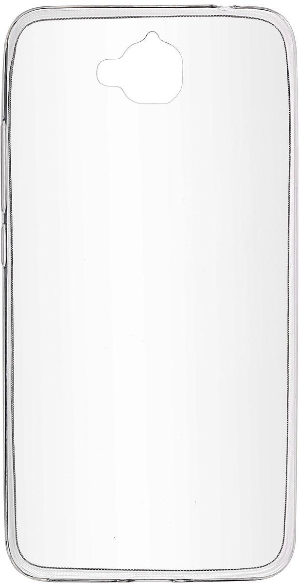 Skinbox Slim Silicone чехол-накладка для Huawei Honor 4C Pro, Crystal2000000105048Чехол Skinbox Slim Silicone для Huawei Honor 4C Pro надежно защищает ваш смартфон от внешних воздействий, грязи, пыли, брызг. Он также поможет при ударах и падениях, не позволив образоваться на корпусе царапинам и потертостям. Чехол обеспечивает свободный доступ ко всем функциональным кнопкам смартфона и камере.