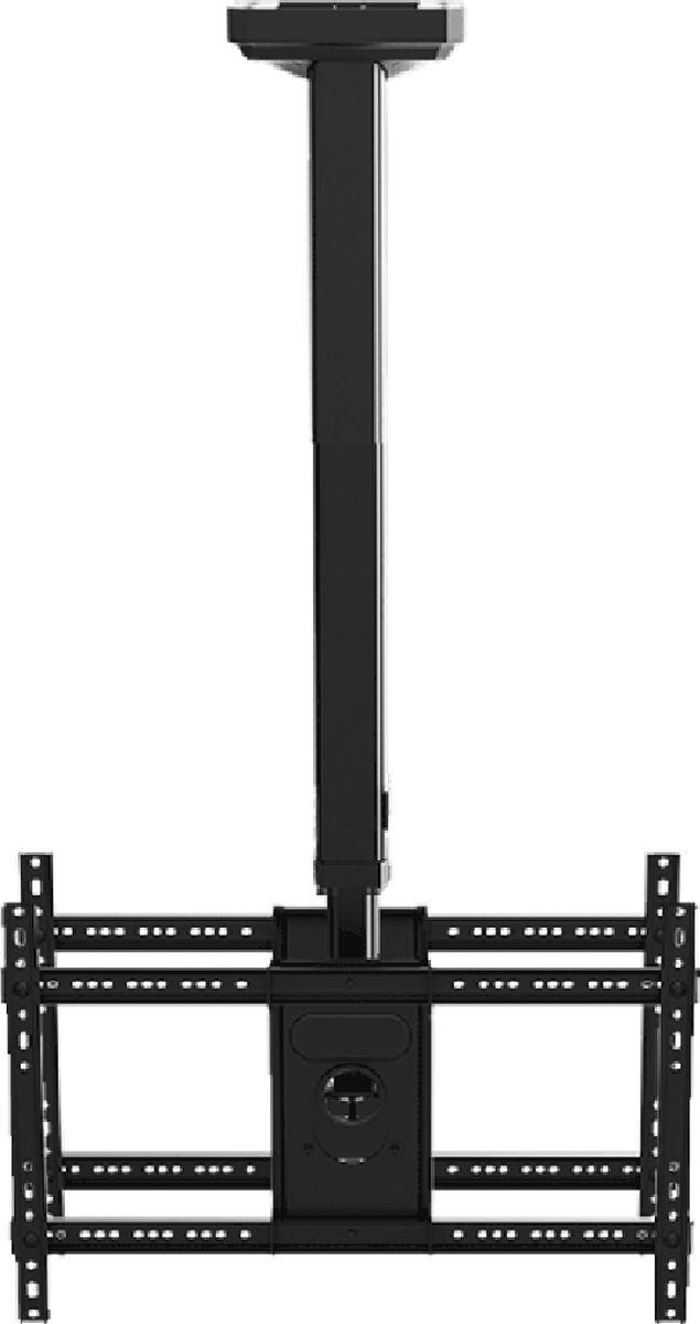 North Bayou NB T5520, Black кронштейнNB T5520 чёрныйТелескопический с регулярной сменой высоты для двух телевизоров, можно менять высоту с лёгкостью просто нажав на рычажок на корпусе кронштейна; Вместительный кабель-канал внутри кронштейна; Премиальный матовый корпус
