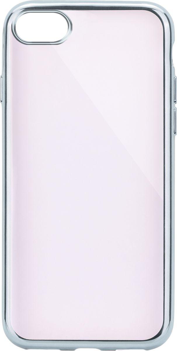 Interstep Frame чехол для Apple iPhone 7, SilverHFR-APIPH07K-NP1117O-K100Стильный ультратонкий чехол Interstep Frame для Apple iPhone 7 обеспечивает надежную защиту корпуса смартфона от механических повреждений и надолго сохраняет его привлекательный внешний вид. Элегантное гальванопокрытие не подвержено стиранию, модная цветовая гамма рамки сочетается с цветами смартфонов Apple, выгодно подчеркивая их. Чехол также обеспечивает свободный доступ ко всем разъемам и клавишам устройства.