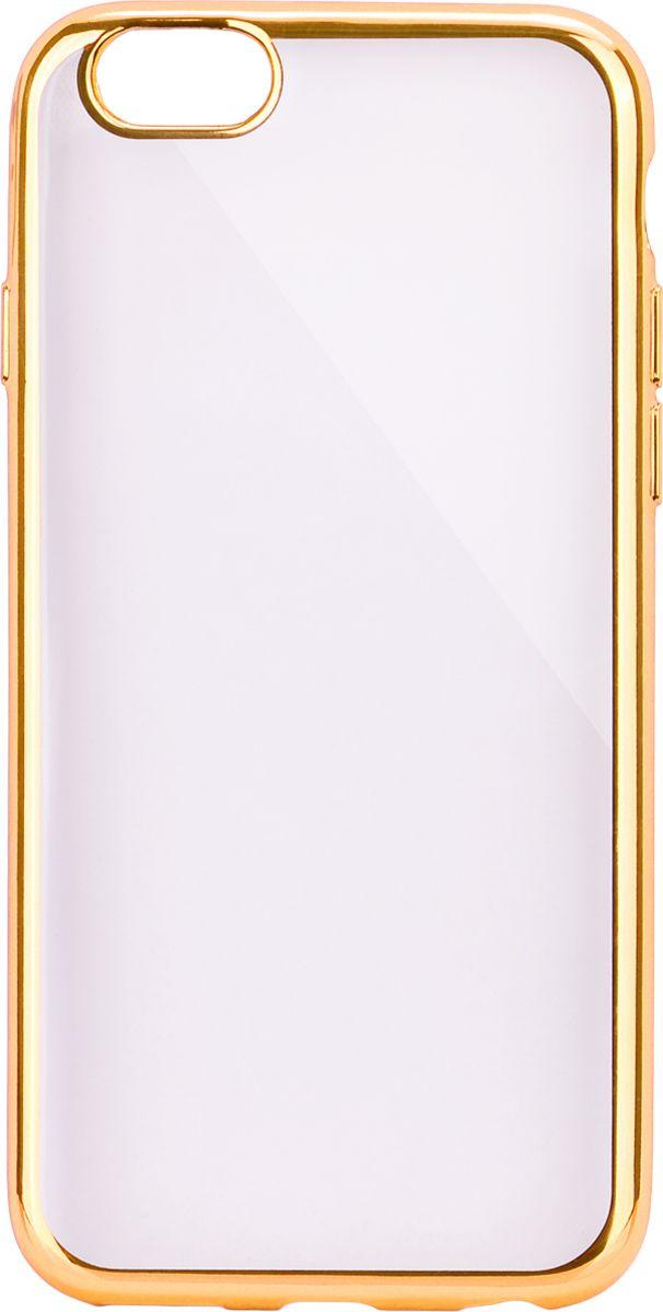 Interstep Frame чехол для Apple iPhone 6 Plus/6s Plus, GoldHFR-APIPH6PK-NP1116O-K100Стильный ультратонкий чехол Interstep Frame для Apple iPhone 6 Plus/6s Plus обеспечивает надежную защиту корпуса смартфона от механических повреждений и надолго сохраняет его привлекательный внешний вид. Элегантное гальванопокрытие не подвержено стиранию, модная цветовая гамма рамки сочетается с цветами смартфонов Apple, выгодно подчеркивая их. Чехол также обеспечивает свободный доступ ко всем разъемам и клавишам устройства.