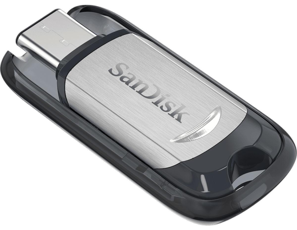 SanDisk Ultra Type-C 128Gb, Black Silver USB-накопительSDCZ450-128G-G46USB-флеш-накопитель типа C SanDisk позволяет освободить место в телефонах, планшетах и компьютерах нового поколения, оснащенных портом USB типа C. Дополнительное место всегда пригодится! USB-флеш-накопитель типа C SanDisk обладает достаточной емкостью для удобного переноса коллекций видео, фотоальбомов, музыкальных библиотек, деловых и учебных документов. Просто подсоедините его – и готово! Это как мгновенное увеличение объема диска. Вы постоянно в движении, и USB-флеш-накопитель SanDisk типа C специально создан для того, чтобы быть всегда под рукой. SanDisk объединили тонкий компактный корпус с выдвижным разъемом, чтобы его можно было повесить на брелок или рюкзак. Разъем USB типа C — двусторонний. Его просто невозможно вставить неправильно. Больше не нужно гадать, правильно или нет. Благодаря интерфейсу USB 3.1 со скоростью чтения до 150 МБ/с USB-флеш-накопители типа C SanDisk предоставляют практически мгновенный доступ к...