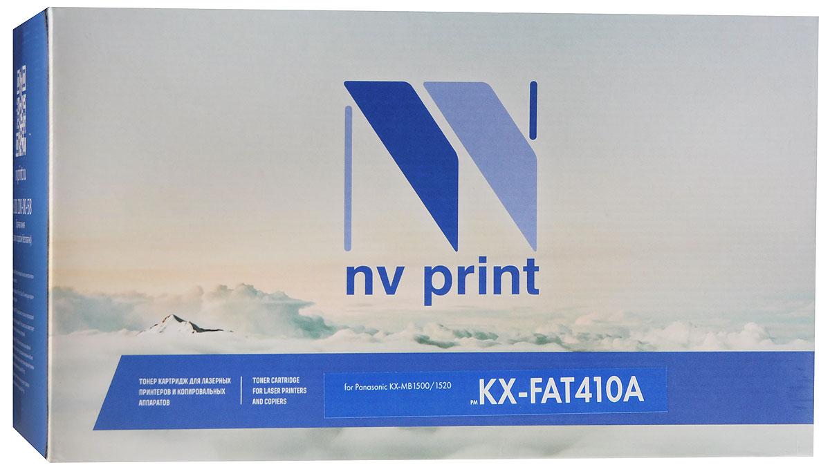 NV Print KX-FAT410A, Black тонер-картридж для Panasonic KX-MB1500/1520KX-FAT410AСовместимый лазерный картридж NV Print KX-FAT410A для печатающих устройств Panasonic - это альтернатива приобретению оригинальных расходных материалов. При этом качество печати остается высоким. Лазерные принтеры, копировальные аппараты и МФУ являются более выгодными в печати, чем струйные устройства, так как лазерных картриджей хватает на значительно большее количество отпечатков, чем обычных. Для печати в данном случае используются не чернила, а тонер.