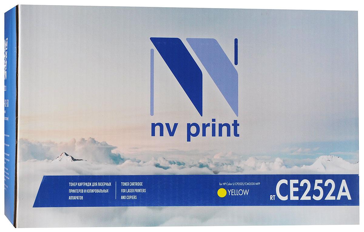 NV Print CE252A, Yellow тонер-картридж для HP Color LaserJet CP3525/CM3530 MFPCE252AYСовместимый лазерный картридж NV Print CE252A для печатающих устройств HP - это альтернатива приобретению оригинальных расходных материалов. При этом качество печати остается высоким. Лазерные принтеры, копировальные аппараты и МФУ являются более выгодными в печати, чем струйные устройства, так как лазерных картриджей хватает на значительно большее количество отпечатков, чем обычных. Для печати в данном случае используются не чернила, а тонер.