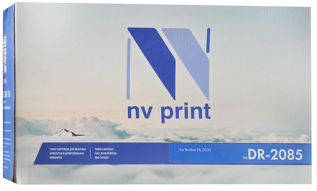 NV Print DR-2085, Black фотобарабан для Brother HL-2035NV-DR2085Фотобарабан NV Print DR-2085 производится по оригинальной технологии из совершенно новых комплектующих. Все картриджи проходят тестовую проверку на предмет совместимости и имеют сертификаты качества. Лазерные принтеры, копировальные аппараты и МФУ являются более выгодными в печати, чем струйные устройства, так как лазерных картриджей хватает на значительно большее количество отпечатков, чем обычных.