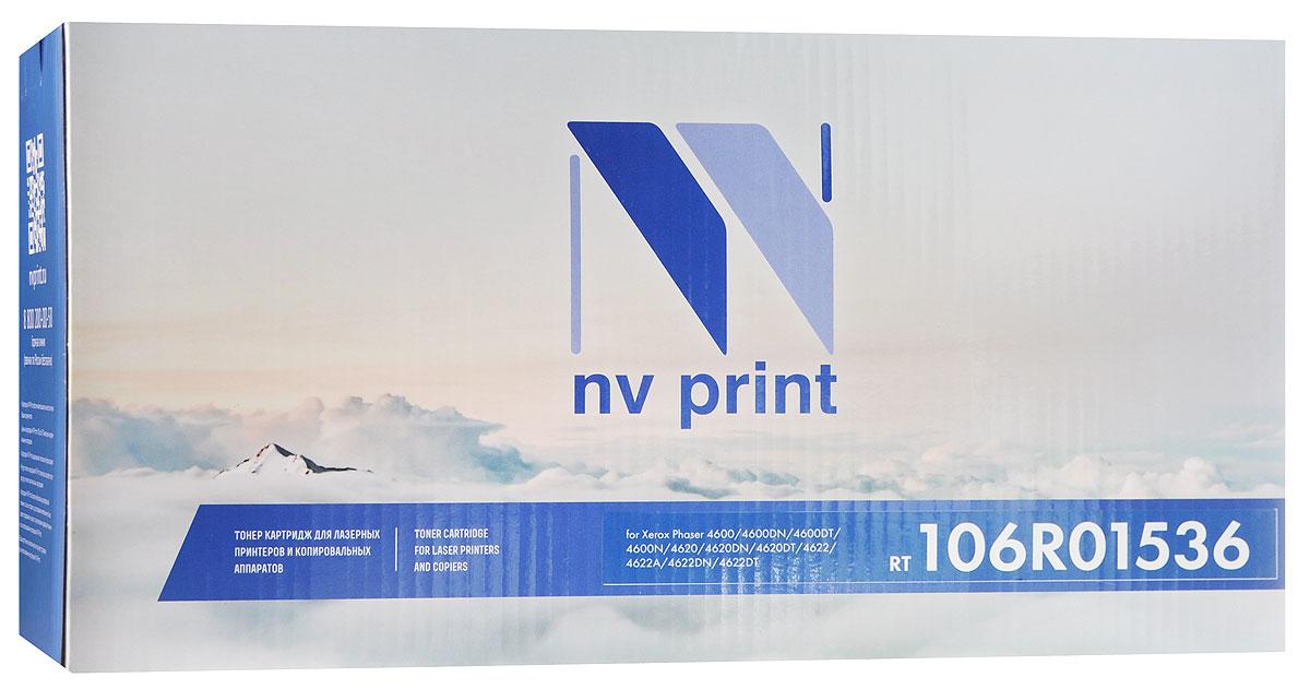 NV Print 106R01536, Black тонер-картридж для Xerox Phaser 4600/4620/4622NV-106R01536Совместимый лазерный картридж 106R01536 для печатающих устройств Xerox - это альтернатива приобретению оригинальных расходных материалов. При этом качество печати остается высоким. Тонер-картридж NV Print 106R01536 спроектирован и разработан с применением передовых технологий, наилучшим образом приспособлен для эффективной работы печатного устройства. Все компоненты оптимизируют процесс печати и идеально сочетаются в течение всего времени работы, что дает вам неизменно качественные результаты при использовании вашего лазерного принтера.