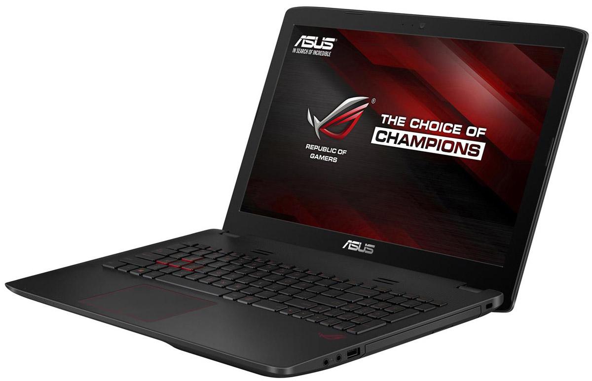 ASUS ROG GL552VX (GL552VX-DM087T)GL552VX-DM087TМаксимальная скорость, оригинальный дизайн, великолепное изображение и возможность апгрейда конфигурации - встречайте геймерский ноутбук Asus ROG GL552VX. В компактном корпусе скрывается мощная конфигурация, включающая операционную систему процессор Intel Core i5 и дискретную видеокарту NVIDIA GeForce GTX950M. Ноутбук также оснащается интерфейсом USB 3.1 в виде удобного обратимого разъема Type-C. Клавиатура ноутбука Asus ROG GL552VX оптимизирована специально для геймеров, поэтому клавиши со стрелками расположены отдельно от остальных. Прочная и эргономичная, эта клавиатура оснащается подсветкой красного цвета, которая позволит с комфортом играть даже ночью. Функция GameFirst III позволяет установить приоритет использования интернет-канала для разных приложений. Получив максимальный приоритет, онлайн-игры будут работать максимально быстро, без раздражающих лагов, и другие онлайн-приложения, имеющие низкий приоритет, не будут им в этом...
