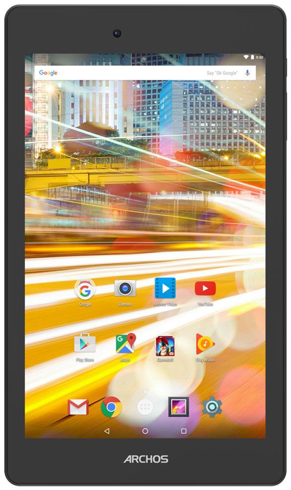 Archos 70 Oxygen70 OXYGENArchos 70 Oxygen можно назвать произведением искусства в мире планшетов. Он обладает прекрасным экраном, поддерживающим разрешение Full HD, что обеспечивает великоолепное изображение, а благодаря технологии IPS углы обзора становятся действительно широкими. Оснащенный 4-ядерным процессором Archos 70 Oxygen справится с любыми вашими задачами. Запускайте приложения, играйте, смотрите кино в разрешении Full HD и наслаждайтесь работой планшета, который не жертвует производительностью и временем работы батареи. Работающий на платформе Android 6.0 Marshmallow Archos 70 Oxygen получил обновленный интерфейс пользователя, ставший еще более удобным и интуитивным. Marshmallow также предоставляет новые функции, такие как Google Now on Tap и многие другие. Этот планшет отражает в дизайне новейшие тренды в мире электроники. Он оптимально подходит для ежедневного использования и отличается элегантным внешним видом, что подчеркивает алюминиевый корпус. ...