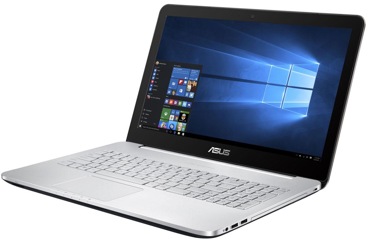 Asus VivoBook Pro N552VW (N552VW-FY250T)N552VW-FY250TAsus VivoBook Pro N552VW обладает мощной конфигурацией, в которую входят самые современные программные и аппаратные компоненты: четырехъядерный процессор Intel Core i7 шестого поколения, видеокарта NVIDIA GeForce GTX 960M, оперативная память объемом 8 ГБ и операционная система Windows 10. За высокую скорость работы различных приложений на ноутбуке VivoBook Pro N552VW отвечает четырехъядерный процессор Intel Core i7-6700HQ, дополненный 8 гигабайтами оперативной памяти стандарта DDR4. Современные ноутбуки серии N подходят для любых, даже самых ресурсоемких, приложений. Просмотр фильмов, редактирование изображений и видеороликов, новейшие компьютерные игры - ноутбук способен справиться с любыми задачами, связанными с графикой, ведь в его конфигурацию входит мощная дискретная видеокарта NVIDIA GeForce GTX 960M. Дисплей данного ноутбука может похвастать расширенным цветовым охватом. Он способен отображать 72% оттенков цветового пространства...