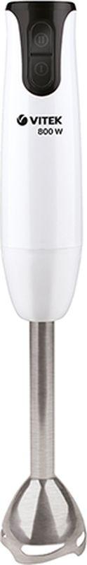 Vitek VT-3428 W блендер погружнойVT-3428(W)Блендер Vitek VT-13428 W - это простота управления, функциональность, изысканный дизайн, доступная стоимость и исключительный результат. Данная модель компактна и легка в использовании. Прибор оснащен нескользящей рукояткой, на которой в удобном месте располагаются кнопки управления режимами. Эффективная работа прибора также достигается благодаря нескольким скоростям работы.