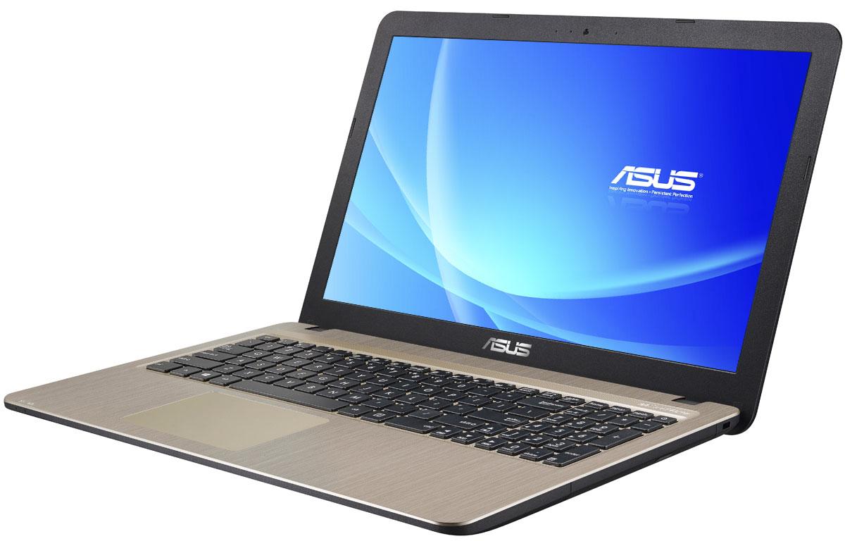 ASUS VivoBook X540SA, Chocolate Black (X540SA-XX032D)X540SA-XX032DСерия VivoBook X540 - это современные ноутбуки для ежедневного использования как дома, так и в офисе. Их мощная аппаратная конфигурация, в которую входит современный процессор Intel, обеспечит высокую скорость работы любых приложений. Для быстрого обмена данными с периферийными устройствами VivoBook X540SA предлагает высокоскоростной порт USB 3.1 (5 Гбит/с), выполненный в виде обратимого разъема Type-C. Его дополняют традиционные разъемы USB 2.0 и USB 3.0. В число доступных интерфейсов также входят HDMI и VGA, которые служат для подключения внешних мониторов или телевизоров, и разъем проводной сети RJ-45. Кроме того, у данной модели имеется кард-ридер формата SD/SDHC/SDXC. Благодаря эксклюзивной аудиотехнологии SonicMaster встроенная аудиосистема ноутбука VivoBook X540SA может похвастать мощным басом, широким динамическим диапазоном и точным позиционированием звуков в пространстве. Кроме того, ее звучание можно гибко настроить в зависимости от...