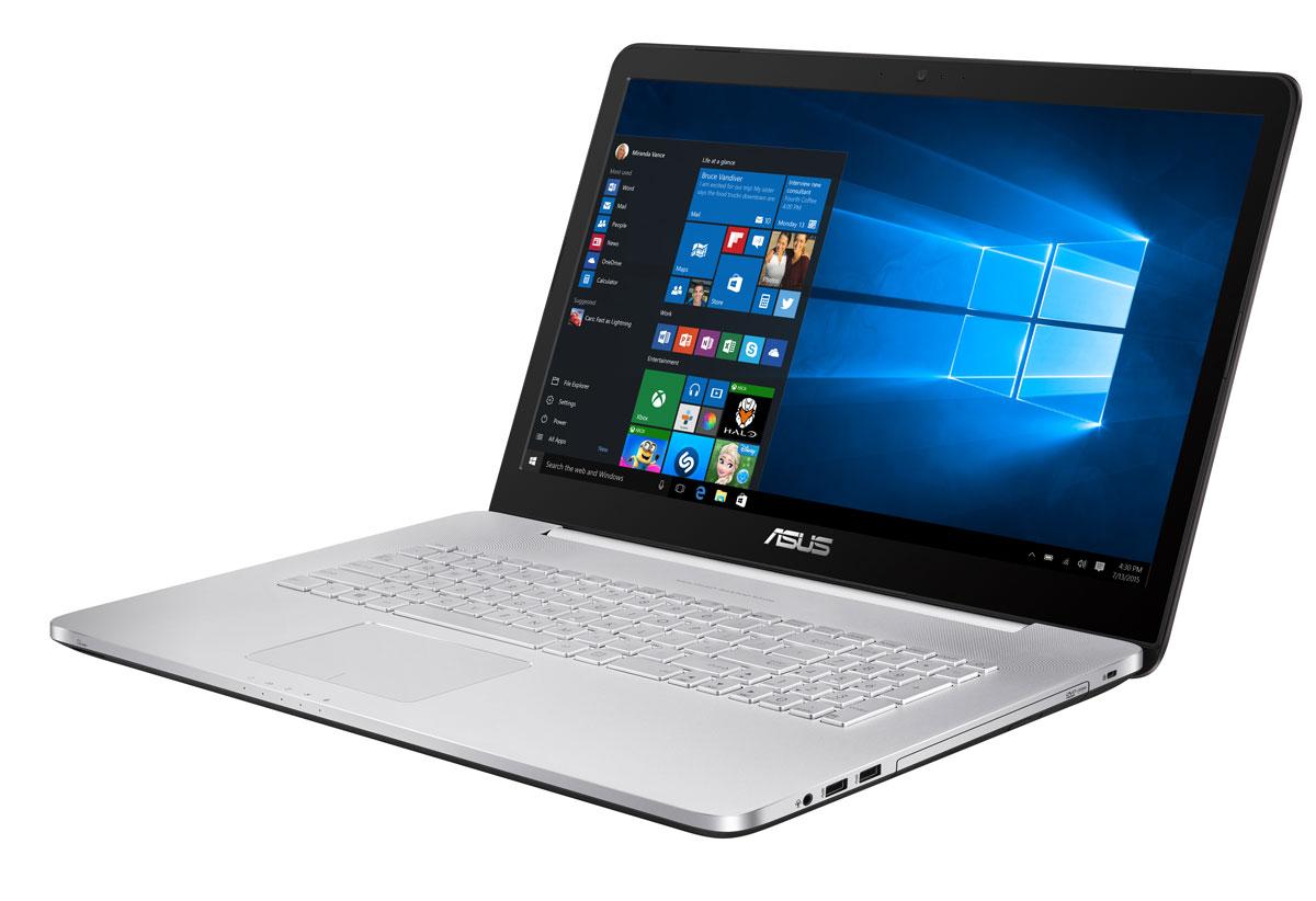 Asus VivoBook Pro N752VX (N752VX-GC277T)N752VX-GC277TAsus VivoBook Pro N752VX обладает мощной конфигурацией, в которую входят самые современные программные и аппаратные компоненты: четырехъядерный процессор Intel Core i7 шестого поколения, видеокарта NVIDIA GeForce GTX 950M, оперативная память объемом 16 ГБ и операционная система Windows 10. За высокую скорость работы различных приложений на ноутбуке VivoBook Pro N752VX отвечает четырехъядерный процессор Intel Core i7-6700HQ, дополненный 16 гигабайтами оперативной памяти стандарта DDR4. Современный ноутбук подходит для любых, даже самых ресурсоемких, приложений. Просмотр фильмов, редактирование изображений и видеороликов, новейшие компьютерные игры - ноутбук VivoBook Pro N752VX способен справиться с любыми задачами, связанными с графикой, ведь в его конфигурацию входит мощная дискретная видеокарта NVIDIA GeForce GTX 950M. VivoBook Pro N752VX наделен дисплеем формата Full HD. Благодаря разрешению 1920х1080 пикселей, изображение на его экране...