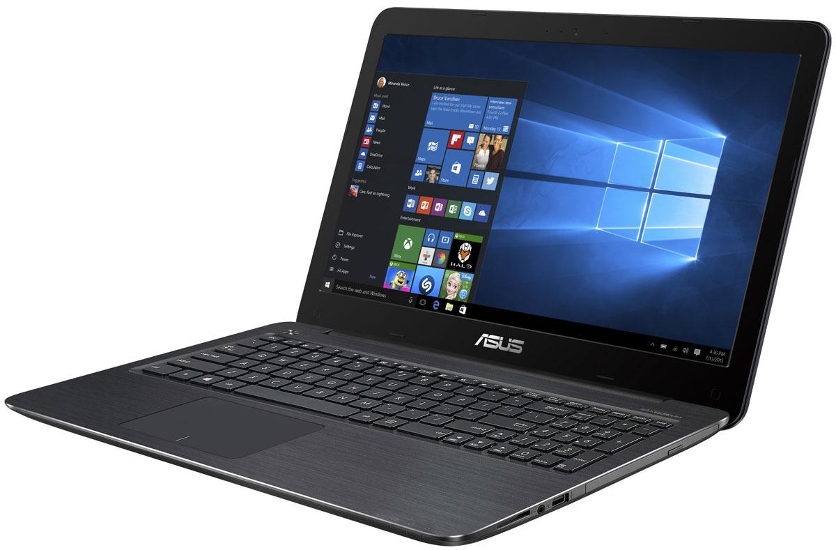 ASUS VivoBook X556UQ, Brown (X556UQ-XO256T)X556UQ-XO256TВысокая вычислительная мощь ноутбука Asus VivoBook X556UQ гарантирует быструю работу любых, даже самых ресурсоемких, приложений. Разработанная специалистами Asus технология Splendid позволяет быстро настраивать параметры дисплея в соответствии с текущими задачами и условиями, чтобы получить максимально качественное изображение. Она предлагает выбрать один из нескольких предустановленных режимов, каждый из которых оптимизирован под определенные приложения (фильмы, работа с текстом и т.д). Ноутбуки Asus серии X оснащаются качественной матрицей с разрешением вплоть до Full HD (1920x1080), которая дает возможность выводить изображение с высоким уровнем детализации. В специальном режиме Eye Care реализована фильтрация синей составляющей видимого спектра для повышения комфорта при чтении. Ноутбуки серии X556 оснащаются литий-полимерной батарей, которая поддерживает свыше 700 циклов зарядки, то есть в 2,5 раза больше, чем у стандартных...