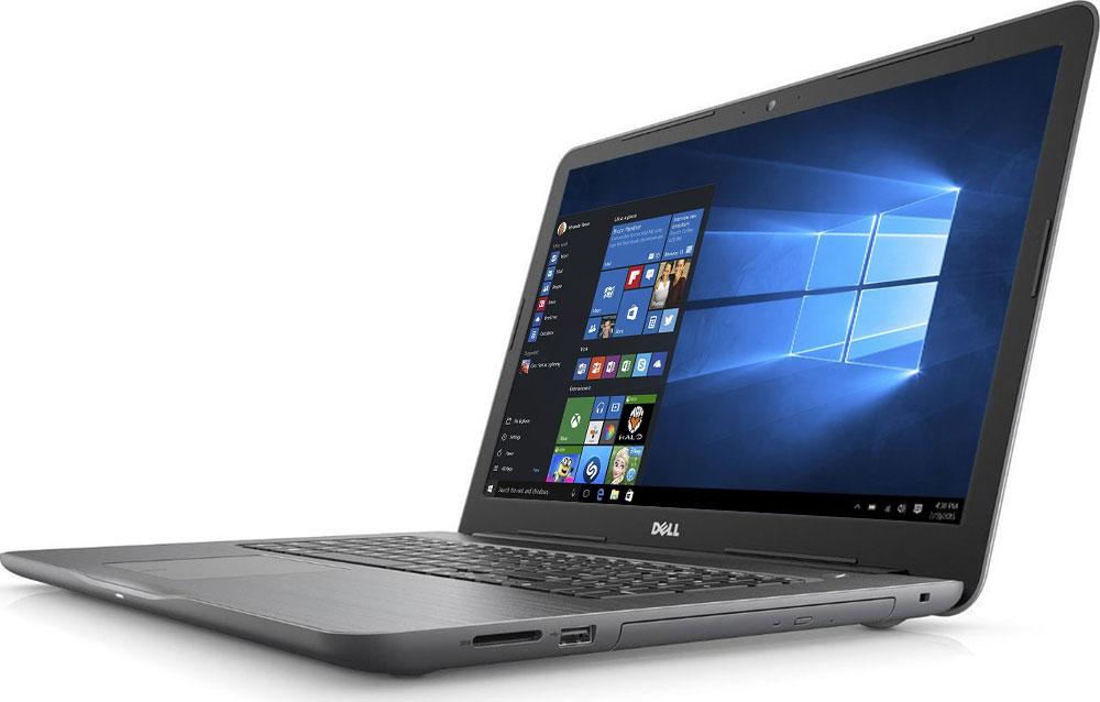 Dell Inspiron 5767 (2693), Black5767-2693Новый уровень развлечений и производительности благодаря 17,3-дюймовому ноутбуку Dell Inspiron 5767 со стильным, привлекательным дизайном, который объединяет в себе мощность настольного компьютера и яркий экран с разрешением Full HD. Ноутбук работает под управлением операционной системы Windows 10. Замените настольный компьютер на стильный ноутбук, обладающий функциями для повышения производительности, которые обеспечивают кинематографическое качество воспроизведения мультимедийных материалов. Ноутбук Dell Inspiron 5767 оснащен процессором Intel Core i5, встроенным дисководом оптических дисков, полноразмерным портом HDMI, USB 3.0 и устройством считывания карт памяти SD. Новый дизайн тоньше и легче, чем у предыдущих версий, поэтому компьютер проще переносить из комнаты в комнату. Жесткий диск позволяет хранить ваши файлы под рукой благодаря емкости системы хранения до 1 TБ. Оцените яркие изображения на 17-дюймовом дисплее нового ноутбука Inspiron -...