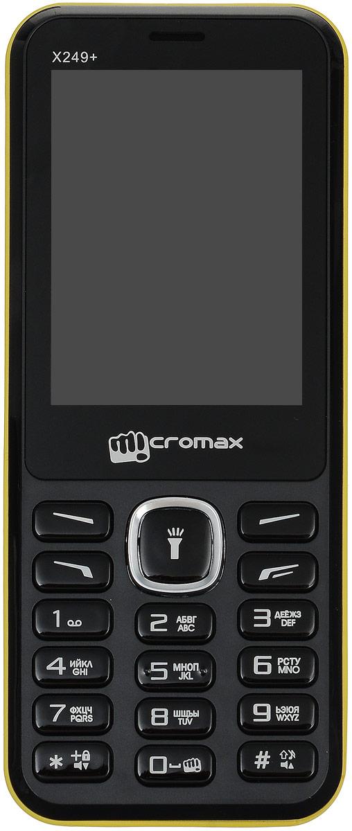 Micromax X249+, YellowMicromax X249+ YellowПолучите незабываемые впечатления от просмотра видеороликов на 2,4-дюймовом дисплее телефона Micromax X249+! Пусть музыка не умолкает ни на минуту - для этого в вашем распоряжении встроенное FM-радио и музыкальный плеер. Записывайте все важные разговоры с помощью встроенной функции записи голосовых вызовов. Не пропускайте последние музыкальные хиты: слушайте радио на вашем Micromax X249+! Слушайте любимые треки благодаря предустановленному аудио плееру и смотрите видео - Micromax X249+ не даст вам заскучать! Записывайте сообщения от друзей при помощи функции записи голосовых вызовов - и делитесь ими! Благодаря Micromax X249+ ваши разговоры с любимыми всегда будут с вами. Снимайте мир с помощью цифровой камеры Micromax X249+. Храните воспоминания о семейных событиях и дружеских встречах в незабываемых фотографиях! С легкостью переключайтесь между двумя тарифными планами благодаря поддержке двух SIM-карт. С Micromax X249+ у вас в...