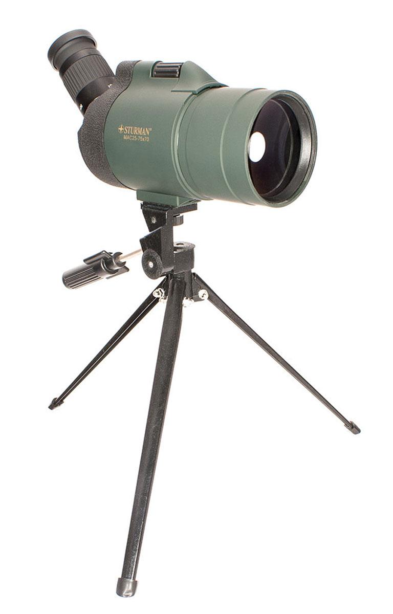 Sturman 25-75х70, Black зрительная труба 7020