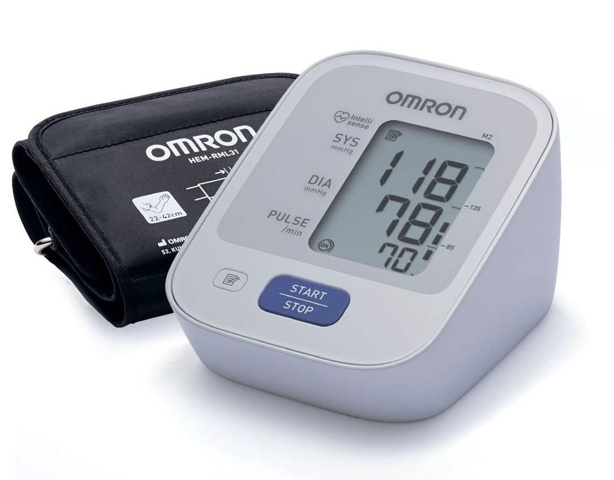 Omron M2 Basic тонометр + адаптер + универсальная манжета HEM-7121-ALRUУТ000001769Предупредить инсульт в ваших силах! Тонометр Omron помогает контролировать артериальную гипертонию — основной фактор риска развития инсульта. Работает с детской манжетой 17-22 см - контроль оптимального давления в манжете Комплект поставки: Электронный блок, манжета компрессионная универсальная, руководство по эксплуатации, чехол для хранения прибора, комплект элементов питания, журнал для записи артериального давления, гарантийный талон