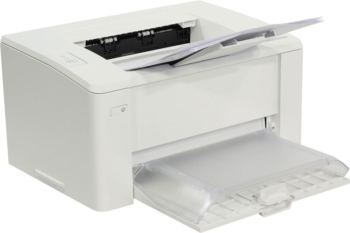 HP LaserJet Pro M104w принтер лазерный (G3Q37A)G3Q37A#B09Упростите свою работу с лазерным принтером HP LaserJet Pro M104w с картриджами на базе технологии JetIntelligence. Создавайте профессиональные документы на разнообразных мобильных устройствах и экономьте электроэнергию с компактным лазерным принтером, специально разработанным для эффективной работы. Ожидайте меньше с принтером HP LaserJet Pro M104w, печатающим быстрее, чем принтеры предыдущих поколений – до 22 страниц в минуту. Быстро получайте необходимые документы. Печать первых страниц занимает всего 7,3 секунды. Мобильная печать станет проще с лазерным принтером HP LaserJet Pro M104w. Печать с iPhone и iPad с помощью технологии AirPrint с автоматическим подбором масштаба в соответствии с форматом бумаги. С помощью функции HP ePrint можно выполнять печать непосредственно со смартфона, планшета или ноутбука, что так же легко, как отправлять сообщения по электронной почте. Благодаря технологии Wi-Fi Direct можно выполнять печать напрямую...