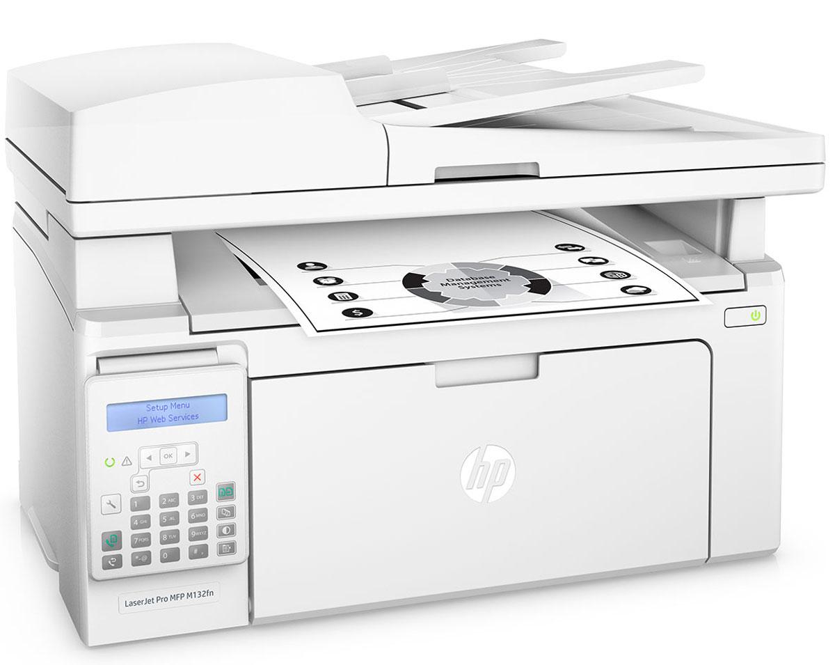 HP LaserJet Pro M132fn МФУG3Q63A#B09Оцените удобные возможности для работы с помощью самого компактного HP LaserJet Pro M132fn и картриджей с технологией JetIntelligence. Это эффективное МФУ позволяет печатать документы профессионального качества с различных мобильных устройств, сканировать и копировать материалы, использовать факсимильную связь, а также значительно экономить энергию. HP LaserJet Pro M132fn — самое компактное устройство HP в линейке LaserJet. Оно объединяет в себе возможности печати, сканирования, копирования и отправки факсов, при этом занимает совсем немного места. Вам не придется долго ждать. Печать до 22 страниц в минуту, выход первой страницы всего за 7,3 секунды. Быстрое сканирование двусторонних документов с помощью меньшего количества действий. Печать с iPhone и iPad с помощью технологии AirPrint с автоматическим подбором масштаба в соответствии с форматом бумаги. С помощью функции HP ePrint можно выполнять печать непосредственно со...