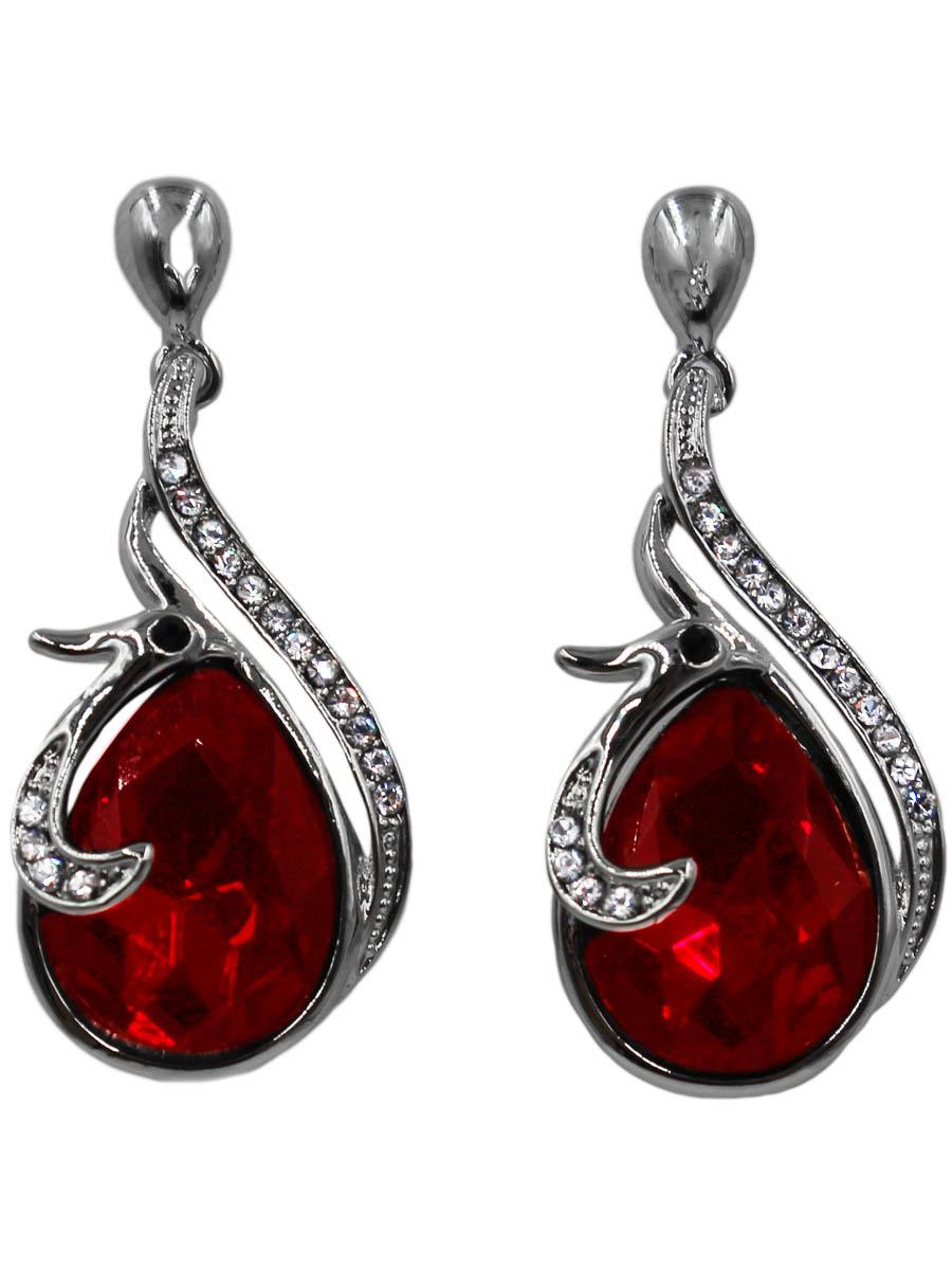Серьги Taya, цвет: серебристый, красный. T-B-10681-EARR-SL.REDT-B-10681-EARR-SL.REDСерьги-гвоздики с заглушкой металл-пластик. Птичка с глазками-стразами нежно обвивает кроваво-красный кристалл. Размеры: длина 3,5 см, ширина 1,3 см.
