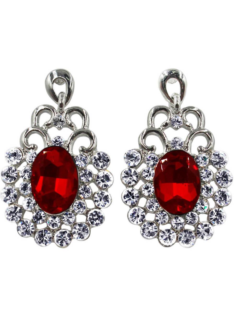 Серьги Taya, цвет: серебристый, красный. T-B-10735-EARR-SL.REDT-B-10735-EARR-SL.REDСерьги-гвоздики с заглушкой металл-пластик. Изящные серьги с крупной подвеской в рамочном картинном обрамлении. В центре кроваво-красный кристалл каплевидной формы. Размеры: длина серьги 4,0 см, ширина 2,3 см.