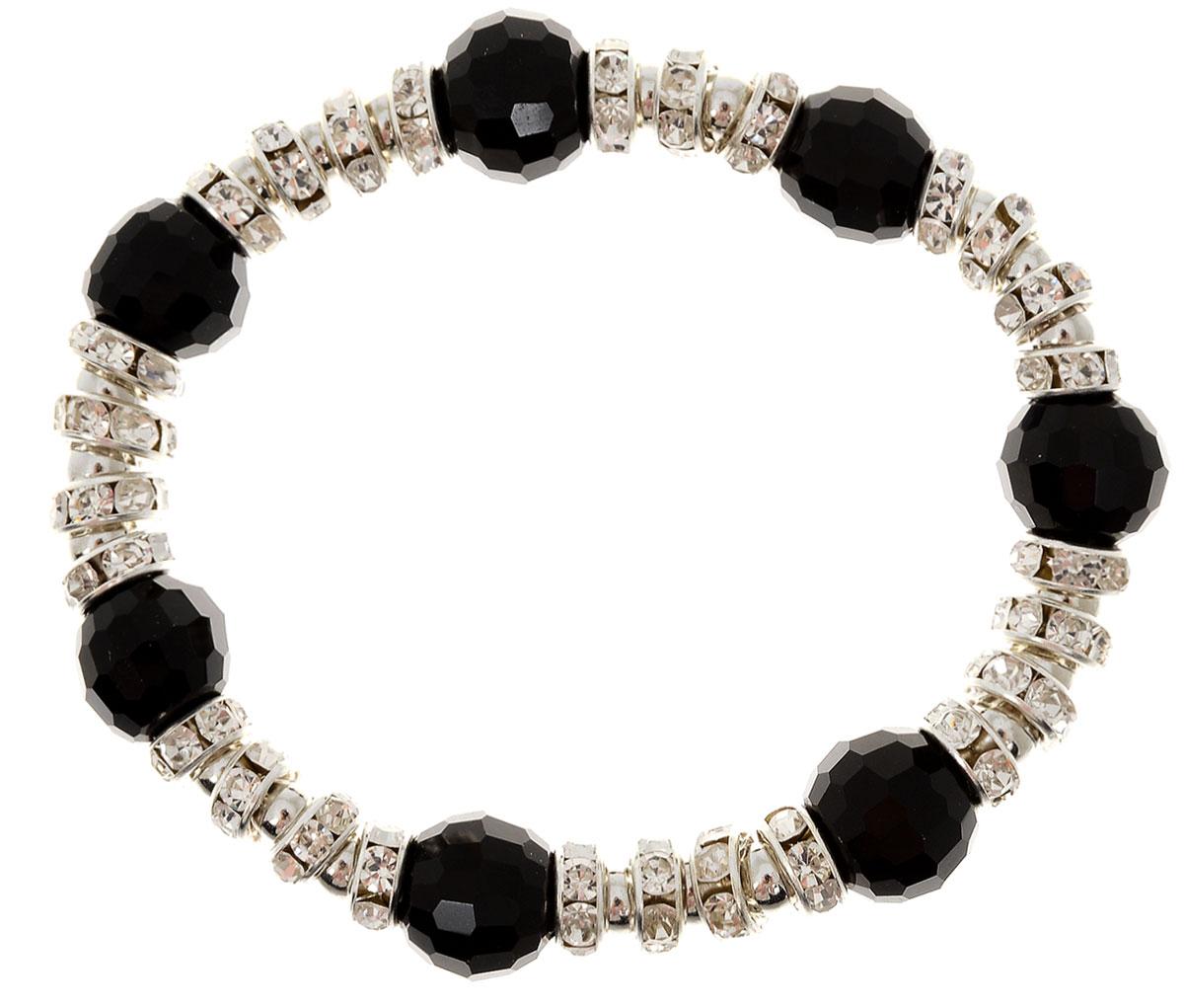 Браслет Taya, цвет: черный. T-B-11920-BRAC-BLACKT-B-11920-BRAC-BLACKУдобный универсальный браслет на резинке. Можно носить его как дополнение к часам или к другим браслетам TAYA.