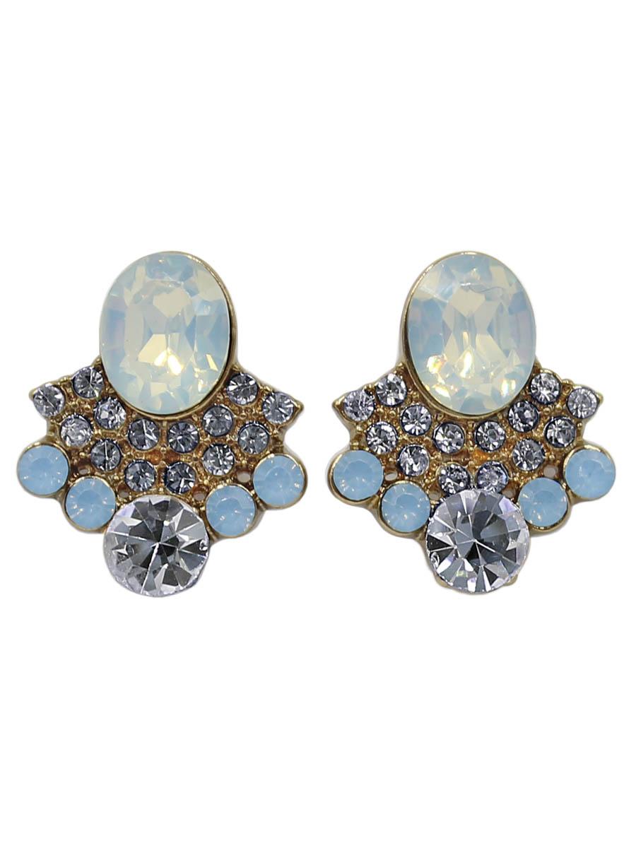 Серьги Taya, цвет: опал. T-B-12266-EARR-OPALT-B-12266-EARR-OPALСерьги-гвоздики с заглушкой металл-пластик. Нежное женственное украшение с неяркими матовыми камнями. Ненавязчивая форма, неяркие кристаллы подойдут женщинам любого возраста. Размеры: длина серьги 2,0 см, ширина 1,5 см.