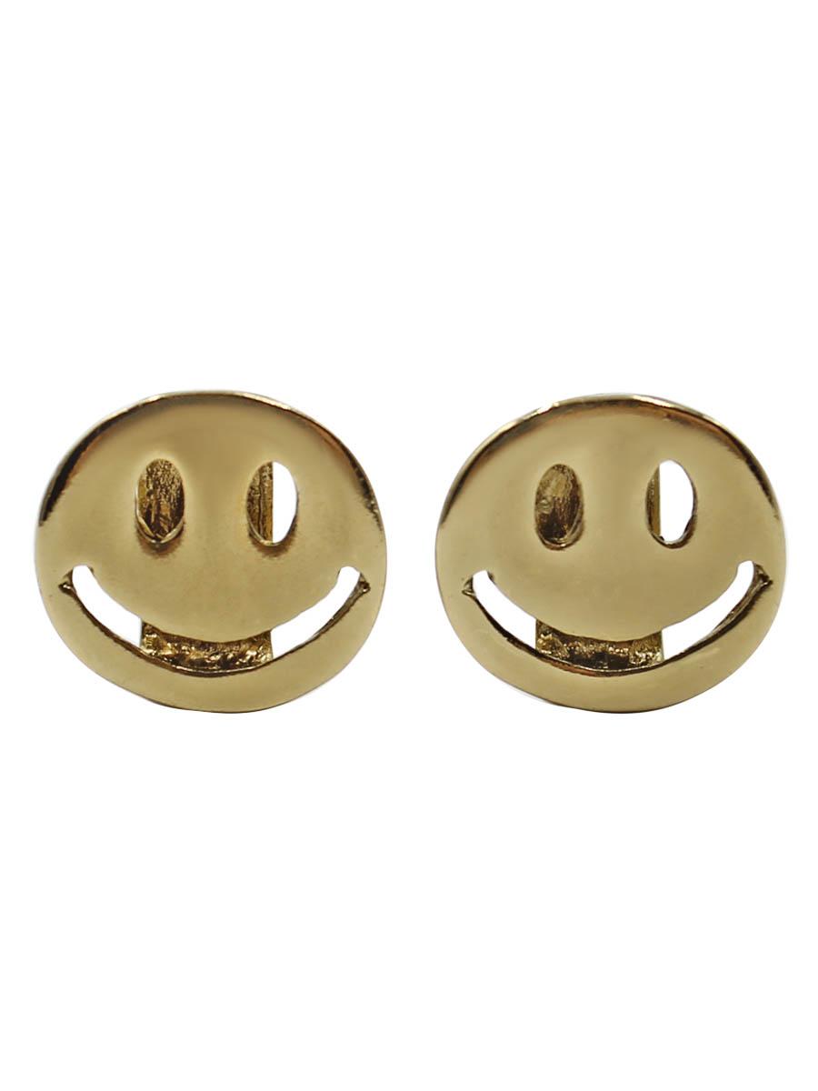 Серьги Taya, цвет: золотистый. T-B-12275-EARR-GOLDT-B-12275-EARR-GOLDСерьги-гвоздики с заглушкой металл-пластик. Все очень просто: наденьте эти сережки и все будут улыбаться:) Размеры: длина 1,0 см, ширина 1,4 см.