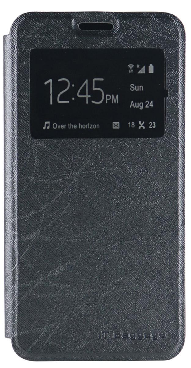 IT Baggage чехол для Meizu M3s mini, BlackITMZM3SM-1Чехол IT Baggage для смартфона Meizu M3s mini надежно защищает смартфон от случайных ударов и царапин, а так же от внешних воздействий, грязи, пыли и брызг. Крышка используется как подставка под устройство. Чехол обеспечивает свободный доступ ко всем функциональным кнопкам смартфона а и камере. Окошко на лицевой стороне позволяет просматривать предупреждения, сообщения и время, не доставая телефон из чехла.
