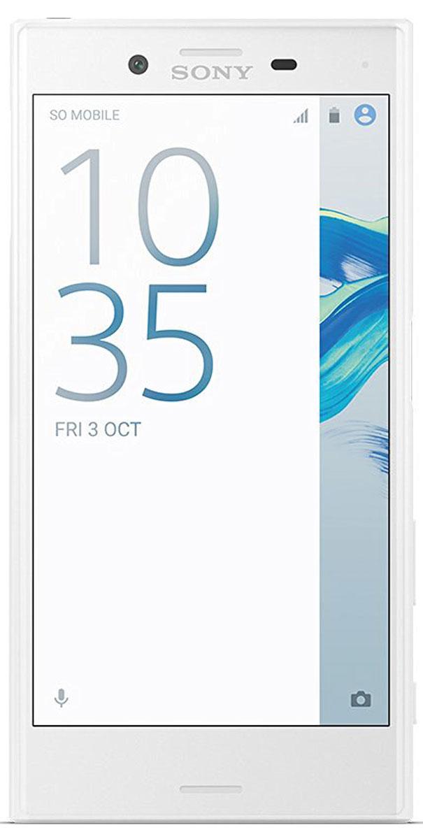Sony Xperia X Compact, White7311271573968Компактный смартфон с камерой, способной запечатлеть все моменты жизни на четких снимках. Для Xperia X Compact движение не помеха. Благодаря технологии взаимодействия трех сенсоров, вы сможете четко снять движущиеся объекты даже при тусклом освещении. Вы никогда не упустите удачный кадр, поскольку смартфон имеет компактный размер 4,6 дюйма, и его удобно носить с собой. Хорошая фотография - та, которую не нужно обрабатывать. Благодаря сенсору RGBC-IR в Xperia X Compact изображение на снимке будет таким, как вы его видите своими глазами. Цвета будут всегда яркими и реалистичными, а фильтры больше не понадобятся. Камера на 23 Мпикс запечатлеет даже самые мимолетные мгновения. Это самая быстрая камера от Sony, которая переходит из режима ожидания в режим съемки за 0,6 секунды. Быстрый запуск, специальная кнопка съемки и быстрая обработка изображений позволят вам запечатлеть самые быстротечные и неожиданные моменты жизни. В Xperia X...