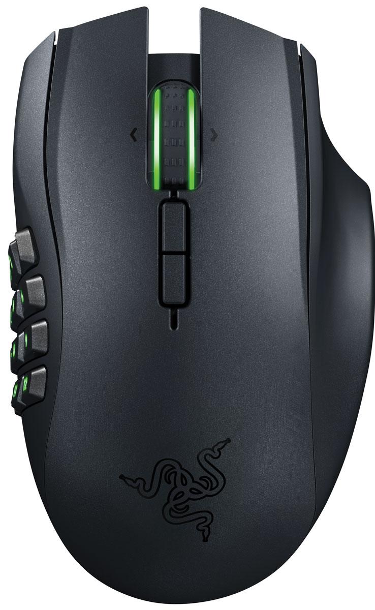 Razer Naga Epic Chroma мышь игроваяRZ01-01230100-R3G1Благодаря огромному количеству кнопок на боковой матрице для большого пальца, Razer Naga Epic Chroma пользуется невероятной популярностью среди игроков MMO по всему миру, а это, наряду с гибкостью беспроводных игровых технологий, превращает эту мышь в настоящую и беспрецедентную икону MMO. Колесо прокрутки с наклоном, улучшенная механика кнопок в матрице под большой палец и большое количество программируемых кнопок — все это невероятно расширяет арсенал точных инструментов на кончиках ваших пальцев. Идеальная эргономика, настраиваемая подсветка Chroma и интуитивный внутриигровой оверлей — эта легендарная игровая мышь для ММО идеально сидит в ладони и индивидуально настраивается под ваш стиль игры. Razer Naga Epic Chroma обладает подсветкой Chroma колеса прокрутки и боковой кнопочной панели — функцию, дающую возможность индивидуальной настройки цвета при помощи сервиса Razer Synapse 2.0. Эта универсальная эргономичная игровая мышь для ММО имеет в общей...