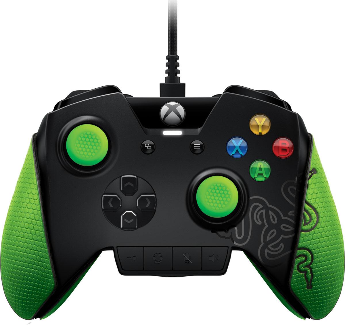 Razer Wildcat геймпад для Xbox One/PCRZ06-01390100-R3M1Хотите играть в консольные игры как настоящий профессионал? Это возможно с игровым геймпадом Razer Wildcat для Xbox One. Razer создавали его специально для турниров, с учетом пожеланий лучших мастеров киберспорта. У этого контроллера, в отличие от обычного, есть четыре дополнительные многофункциональные кнопки. С их помощью можно настроить элементы управления так, как удобно именно вам. Уменьшенная масса, дополнительные накладки для лучшего захвата ладонями и армированные стержни стиков созданы специально для долгих игровых сессий и дают вам неоспоримое преимущество перед соперниками как в тренировочных боях, так и в критические моменты важных турниров. Вы всегда мечтали подготовить отдельные профили с привязкой кнопок для разных компьютерных игр? Хотели быстро изменить настройки звука, не отвлекаясь от происходящего? Все это может быть воплощено в реальность благодаря исключительным индивидуальным возможностям Razer Wildcat для Xbox One....