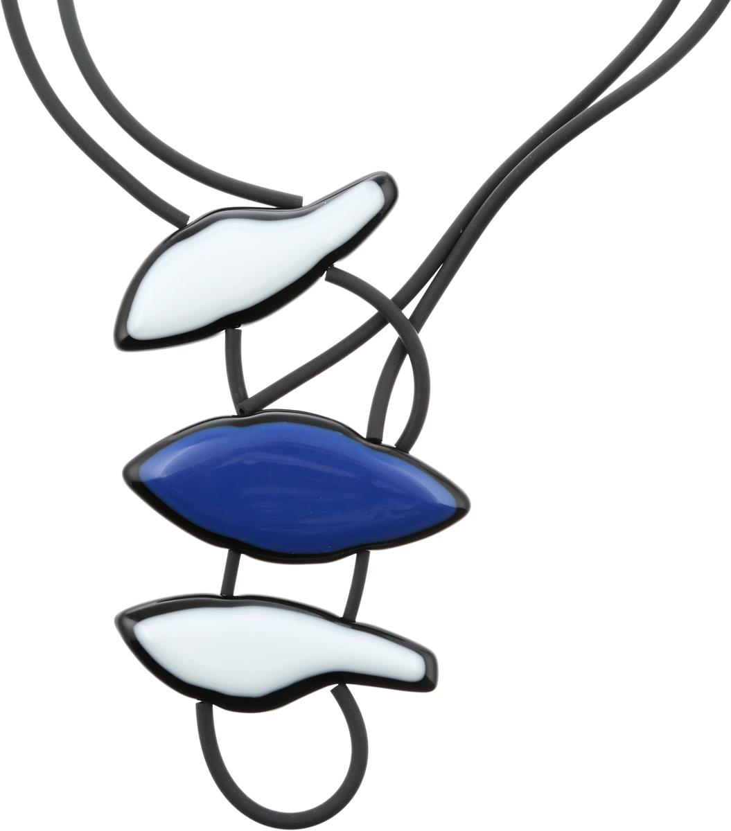 Колье Облака. Муранское стекло, каучук, ручная работа. Murano, Италия (Венеция)f455gew8Колье Облака. Муранское стекло, каучук, ручная работа. Murano, Италия (Венеция). Размер: полная длина 65 см. Каждое изделие из муранского стекла уникально и может незначительно отличаться от того, что вы видите на фотографии.