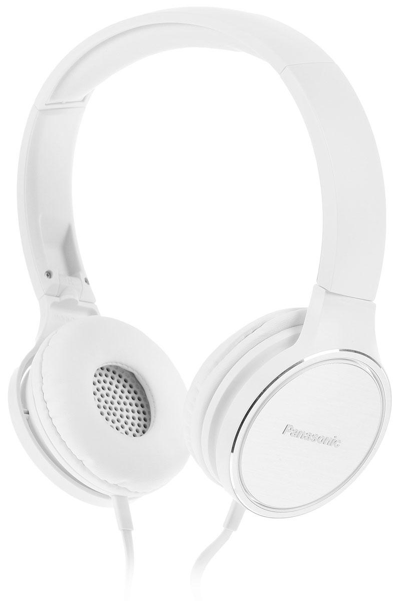 Panasonic RP-HF500MGCW, White наушникиRP-HF500MGCWБлагодаря простому минималистичному, но в тоже время стильному дизайну, наушники с микрофоном Panasonic RP-HF500MGC отлично подойдут к любому пользователю. Оптимальные по размеру динамики создают мощный насыщенный звук, а складная конструкция гарантирует компактность и отличную портативность. Мягкие амбушюры и эргономичный дизайн позволяют слушать музыку в течение нескольких часов. Стильные наушники с микрофоном подарят вам неизменно чистый и четкий звук, где бы вы ни находились - дома или в пути.