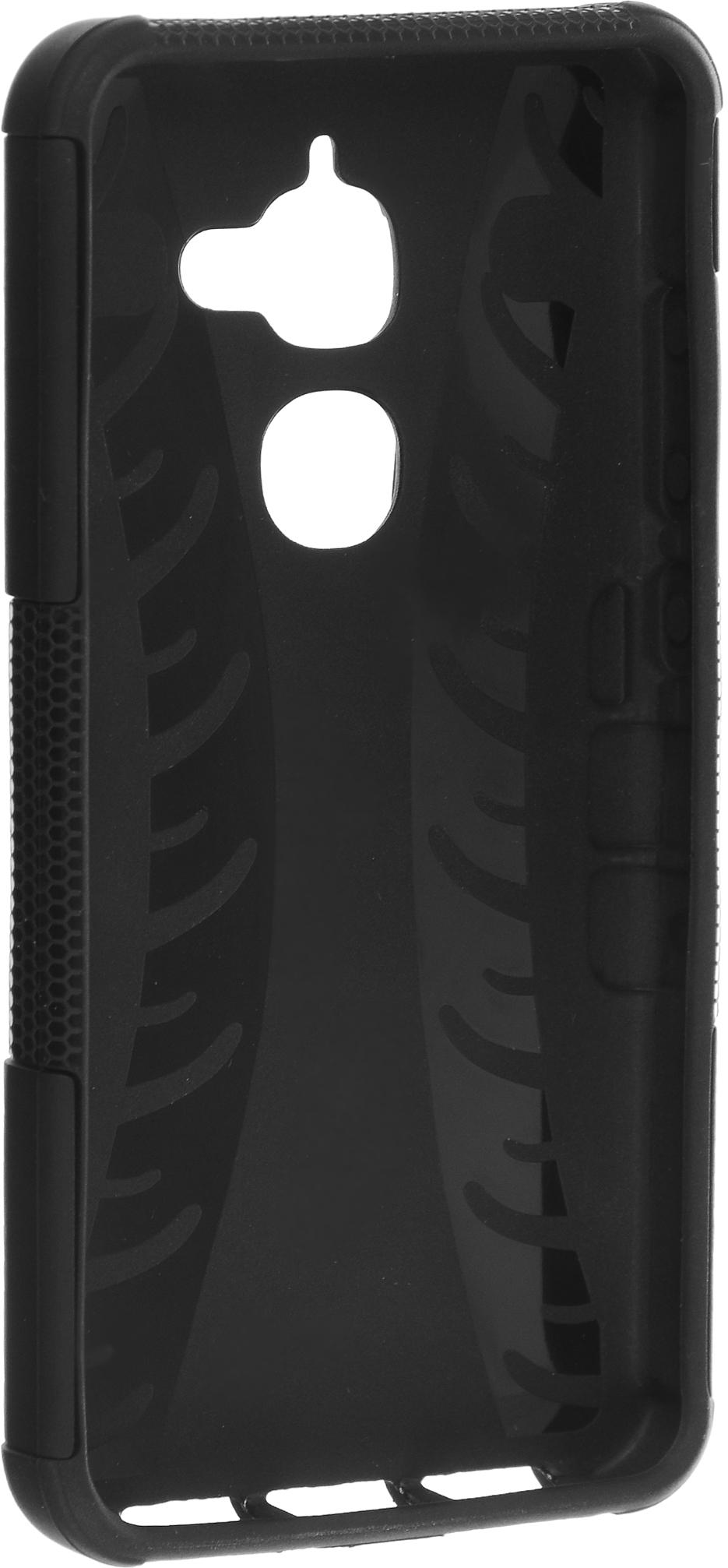 Skinbox Defender Case чехол-накладка для LeEco Le 2 Pro, Black2000000111162Чехол-накладка Skinbox Defender Case для LeEco Le 2 Pro бережно и надежно защитит ваш смартфон от пыли, грязи, царапин и других повреждений. Выполнен из высококачественного поликарбоната, плотно прилегает и не скользит в руках. Чехол-накладка оставляет свободным доступ ко всем разъемам и кнопкам устройства.